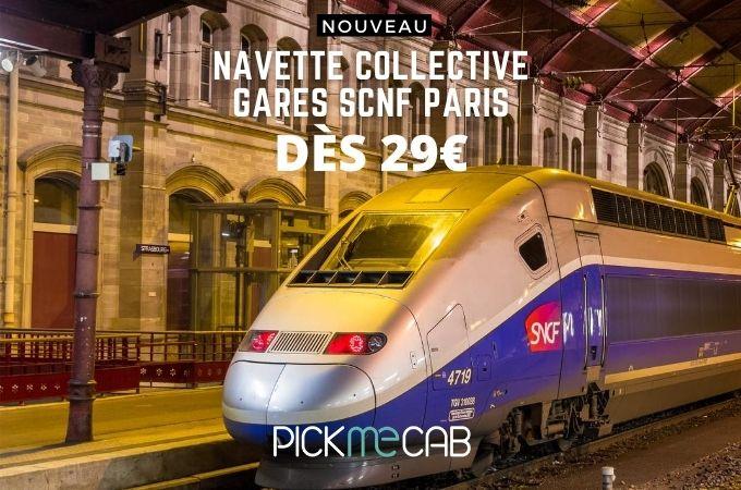 Navette gare SNCF Orléans Paris