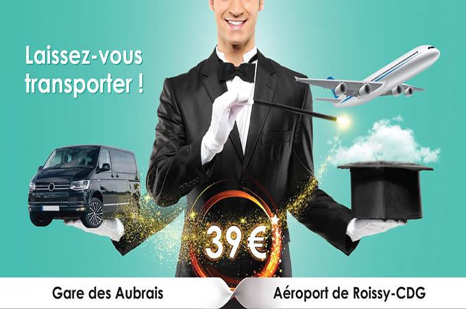 NAVETTE AÉROPORT COLLECTIVE ORLÉANS - ROISSY CHARLES DE GAULLE